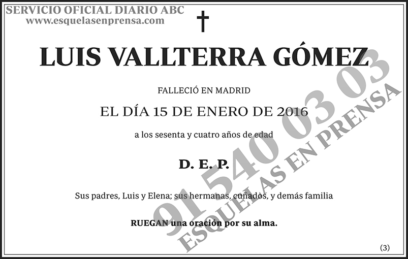 Luis Vallterra Gómez